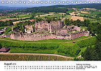 Deutschlands Burgen - Der Süden von oben (Tischkalender 2019 DIN A5 quer) - Produktdetailbild 8