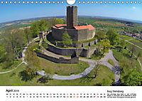 Deutschlands Burgen - Der Süden von oben (Wandkalender 2019 DIN A4 quer) - Produktdetailbild 4