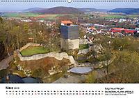 Deutschlands Burgen - Der Süden von oben (Wandkalender 2019 DIN A2 quer) - Produktdetailbild 3