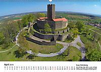 Deutschlands Burgen - Der Süden von oben (Wandkalender 2019 DIN A2 quer) - Produktdetailbild 4