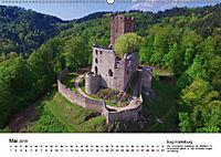 Deutschlands Burgen - Der Süden von oben (Wandkalender 2019 DIN A2 quer) - Produktdetailbild 5