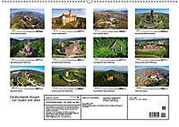 Deutschlands Burgen - Der Süden von oben (Wandkalender 2019 DIN A2 quer) - Produktdetailbild 13