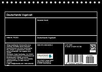 Deutschlands Vogelwelt (Tischkalender 2019 DIN A5 quer) - Produktdetailbild 5