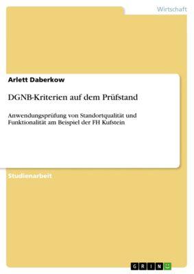 DGNB-Kriterien auf dem Prüfstand, Arlett Daberkow