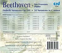 Diabelli-Variationen Op.120/32 Variationen C-Moll - Produktdetailbild 1