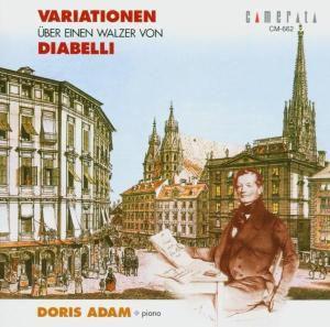 Diabelli Walzer Variationen, Doris Adam