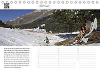 Dialen, Nymphen im Engadin (Tischkalender 2019 DIN A5 quer) - Produktdetailbild 2
