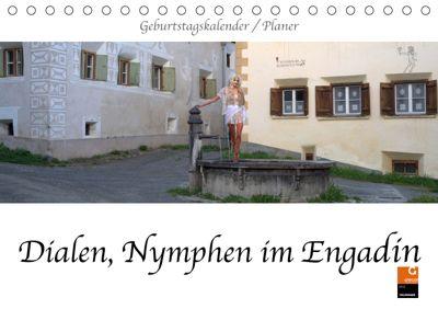 Dialen, Nymphen im Engadin (Tischkalender 2019 DIN A5 quer), fru.ch