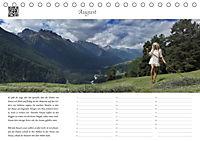 Dialen, Nymphen im Engadin (Tischkalender 2019 DIN A5 quer) - Produktdetailbild 8