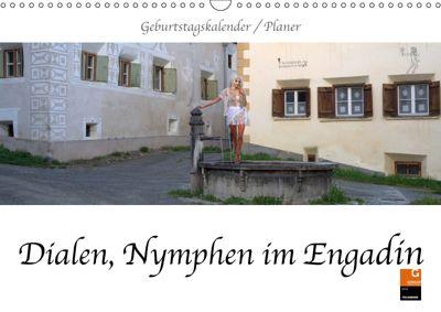 Dialen, Nymphen im Engadin (Wandkalender 2019 DIN A3 quer), fru.ch