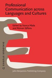 Dialogue Studies: Professional Communication across Languages and Cultures