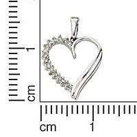 Diamonds by Ellen K. Anhänger 585/- Weißgold Diamant 0,06ct. - Produktdetailbild 1