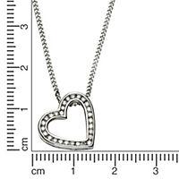 Diamonds by Ellen K. Anhänger mit Kette 585/- Weißgold Brillant 0,22ct. - Produktdetailbild 1