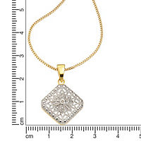 Diamonds by Ellen K. Anhänger mit Kette 925/- Sterling Silber Diamant 0,01ct. - Produktdetailbild 1