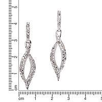 Diamonds by Ellen K. Ohrhänger 925/- Sterling Silber Diamant 0,26ct. - Produktdetailbild 1