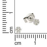 Diamonds by Ellen K. Ohrstecker 585/- Weißgold Diamant 0,055ct. - Produktdetailbild 1