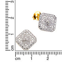 Diamonds by Ellen K. Ohrstecker 925/- Sterling Silber Diamant 0,021ct. - Produktdetailbild 1