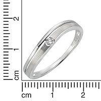 Diamonds by Ellen K. Ring 375/- Weißgold Brillant 0,06ct. (Größe: 052 (16,6)) - Produktdetailbild 1