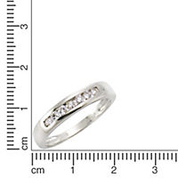 Diamonds by Ellen K. Ring 375/- Weißgold Brillant 0,25ct. (Größe: 018 (57,0)) - Produktdetailbild 1
