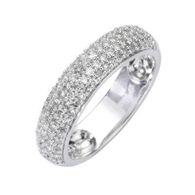 Diamonds by Ellen K. Ring 585/- Weißgold Diamant 0,50ct. (Größe: 017 (53,5))