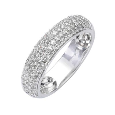 Diamonds by Ellen K. Ring 585/- Weißgold Diamant 0,50ct. (Größe: 018 (57,0))