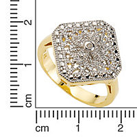 Diamonds by Ellen K. Ring 925/- Sterling Silber Diamant 0,01ct. (Größe: 017 (53,5)) - Produktdetailbild 1