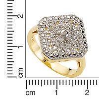 Diamonds by Ellen K. Ring 925/- Sterling Silber Diamant weiß bicolor 0,0106ct. (Größe: 021 (66,1)) - Produktdetailbild 1