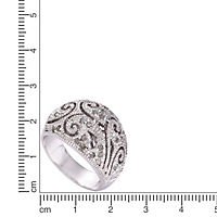 Diamonds by Ellen K. Ring 925/- Sterling Silber Diamant 0,25ct. (Größe: 058 (18,5)) - Produktdetailbild 1