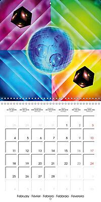 Dice games (Wall Calendar 2019 300 × 300 mm Square) - Produktdetailbild 2