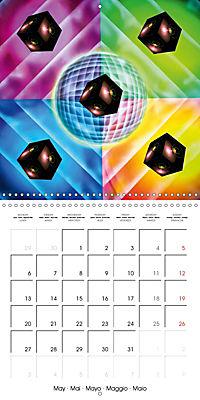 Dice games (Wall Calendar 2019 300 × 300 mm Square) - Produktdetailbild 5