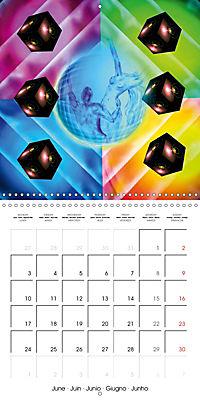 Dice games (Wall Calendar 2019 300 × 300 mm Square) - Produktdetailbild 6