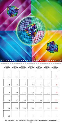 Dice games (Wall Calendar 2019 300 × 300 mm Square) - Produktdetailbild 9