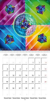 Dice games (Wall Calendar 2019 300 × 300 mm Square) - Produktdetailbild 11