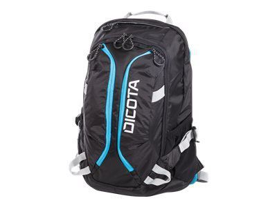 DICOTA Backpack Active 39,6cm 14-15,6Zoll black/blue