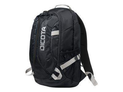 DICOTA Backpack ACTIVE XL 43,9cm 15-17,3Zoll schwarz/schwarz