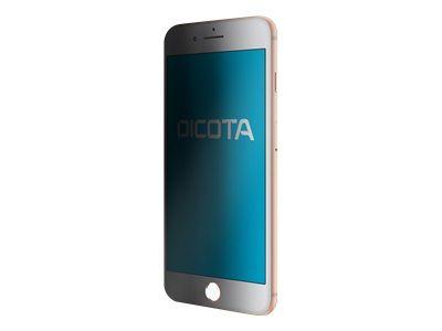DICOTA Secret 4-Way fuer Apple iPhone 8 Plus selbstklebend