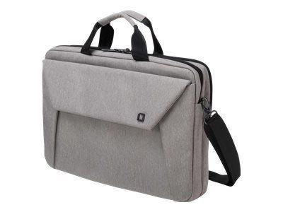 DICOTA Slim Case Plus EDGE 30,5-33,8cm 12-13,3Zoll light grey