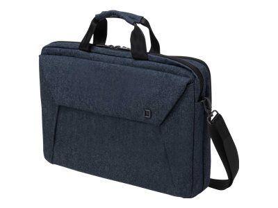 DICOTA Slim Case Plus EDGE 35,6-39,6cm 14-15,6Zoll blue denim