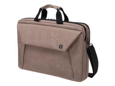 DICOTA Slim Case Plus EDGE 35,6-39,6cm 14-15,6Zoll sandstone