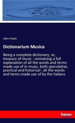 Dictionarium Musica, John Hoyle