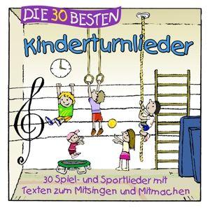 Die 30 besten Kinderturnlieder, Simone Sommerland, Karsten Glück, Die Kita-Frösche