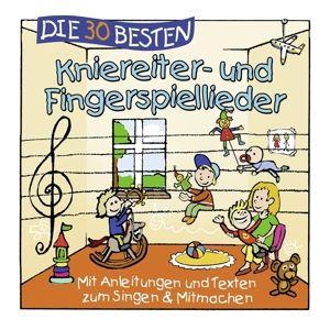 Die 30 besten Kniereiter- und Fingerspiellieder, Simone Sommerland, Karsten Glück, Die Kita-Frösche