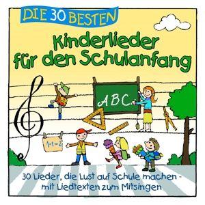 Die 30 besten Lieder für den Schulanfang, Simone Sommerland, Karsten Glück, Die Kita-Frösche