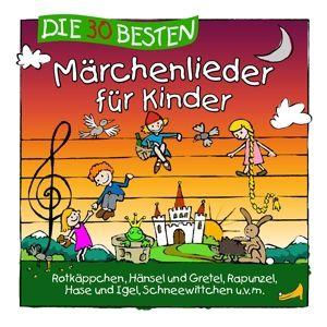 Die 30 Besten Märchenlieder Für Kinder, Simone Sommerland, Karsten Glück, Kita-Frösche