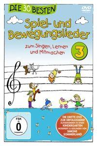 Die 30 besten Spiel- und Bewegungslieder 3, Karsten Glück & Die Kita-Frösche Simone Sommerland