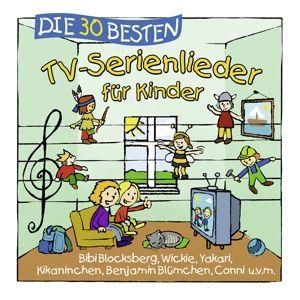 Die 30 besten TV-Serienlieder, Simone Sommerland, Karsten Glück, Die Kita-Frösche