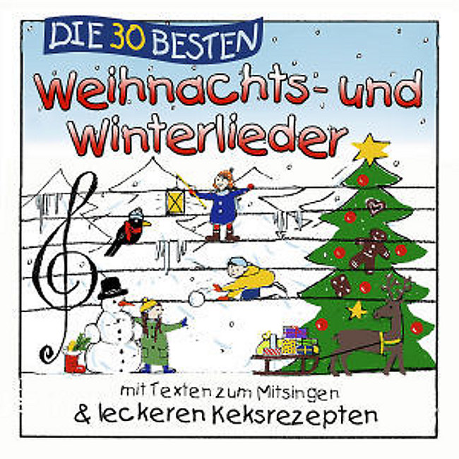10 Besten Weihnachtslieder.Die 30 Besten Weihnachts Und Winterlieder Cd Bei Weltbild De