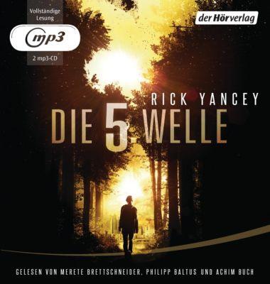 Die 5. Welle, 2 MP3-CDs, Rick Yancey