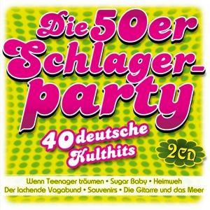Die 50er Schlagerparty-40 Deutsche Kulthits, Various