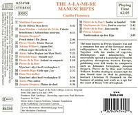 Die A-La-Mi-Re Manuskripte - Produktdetailbild 1